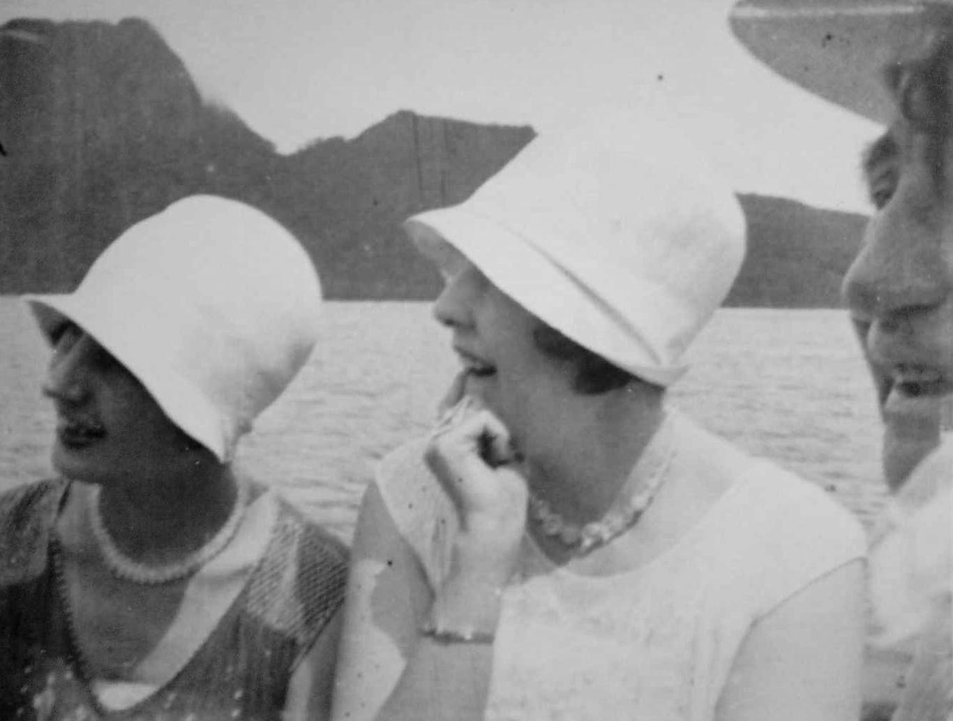 Helen Dobner and Hazel Borden