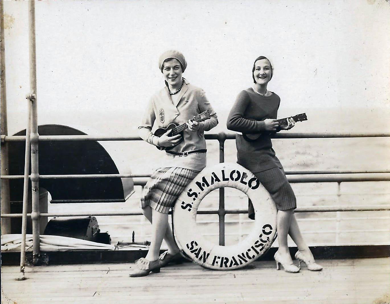 Barbara Avrill and Eva Grossman