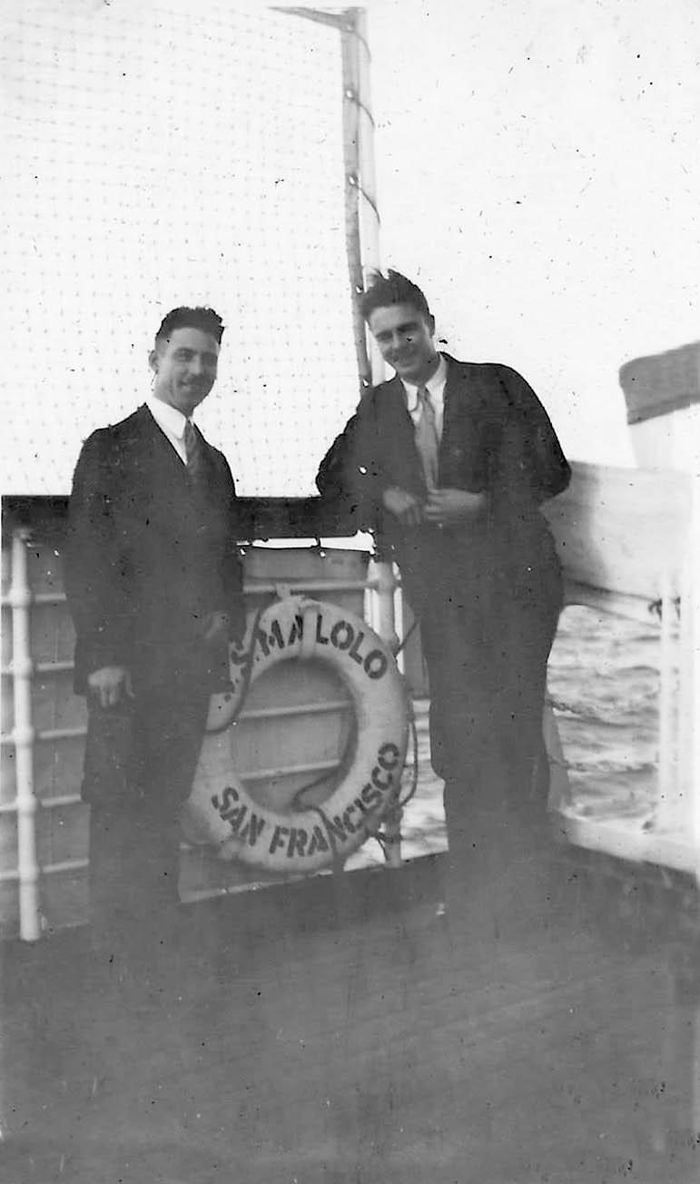 John Simpkin and Jack Blanchard