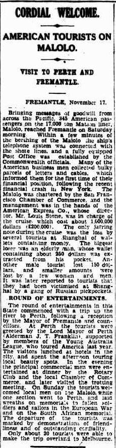 THE COURIER Brisbane, AU  - November 17, 1929