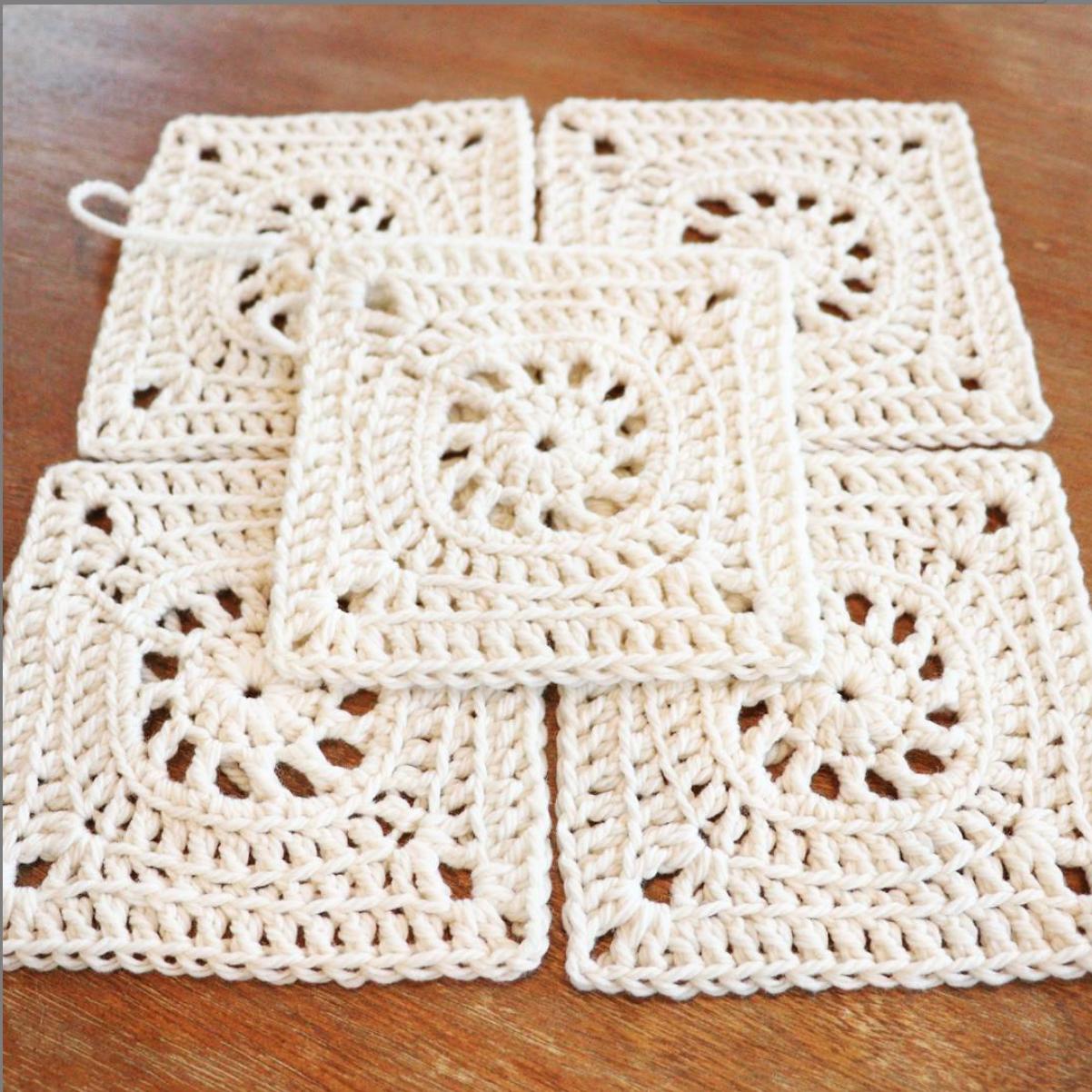 Crochet Motif Quince & Co Osprey
