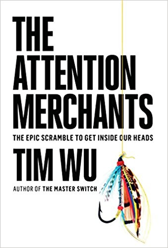Tim Wu's excellent history of advertising and propaganda,   The Attention Merchants   ,  is interesting and terrifying. Find out how America inspired Hitler! And how Hitler inspired advertisers!