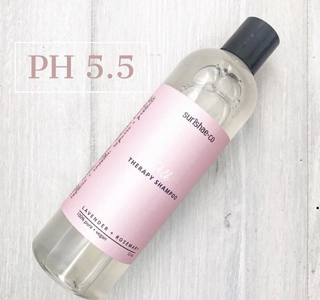 P H  B A L A N C E  Is your shampoo Ph balanced?  Maintaining the right PH (Potential Hydrogen) levels in hair care products are important for keeping your hair healthy, shiny, and your colors vibrant!  Just think!  The ph of your hair is 4.5 - 5.5, so you want to keep your hair happy, with products that are ph balanced.  You want to use a shampoo with a ph level between 5 and 7 (slightly acidic), and helps the hair shaft retain moisture.  Higher than a 7, will be too alkaline, and raise the cuticle too much, leaving the hair dry and frizzy.  PH balanced shampoos also help to stop your scalp from producing too much oil.  Our Silk Therapy Shampoo is a ph 5.5!  It's a mild cleanser (please note, it will not remove silicones), and properly ph balanced for the scalp. It's great for all hair types, textures, and color-treated hair.