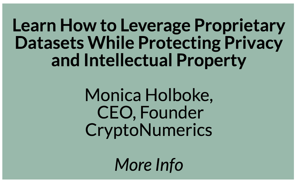 Learn how to leverage proprietary datasets while protecting privacy and intellectual property  Data is the key ingredient in any AI strategy. But some of the most valuable datasets are inaccessible because they reside in silos created by privacy concerns, a fear of loss of intellectual property, regulatory requirements and contractual obligations. This is most common in highly regulated industries such as healthcare and financial services. Siloed data hampers organizations ability to accelerate their data-driven innovation. However, by employing state of the art techniques in cryptography and numerical methods, organizations can collaborate on building statistical and machine learning models with decentralized siloed data to generate superior insights while preserving privacy and IP.