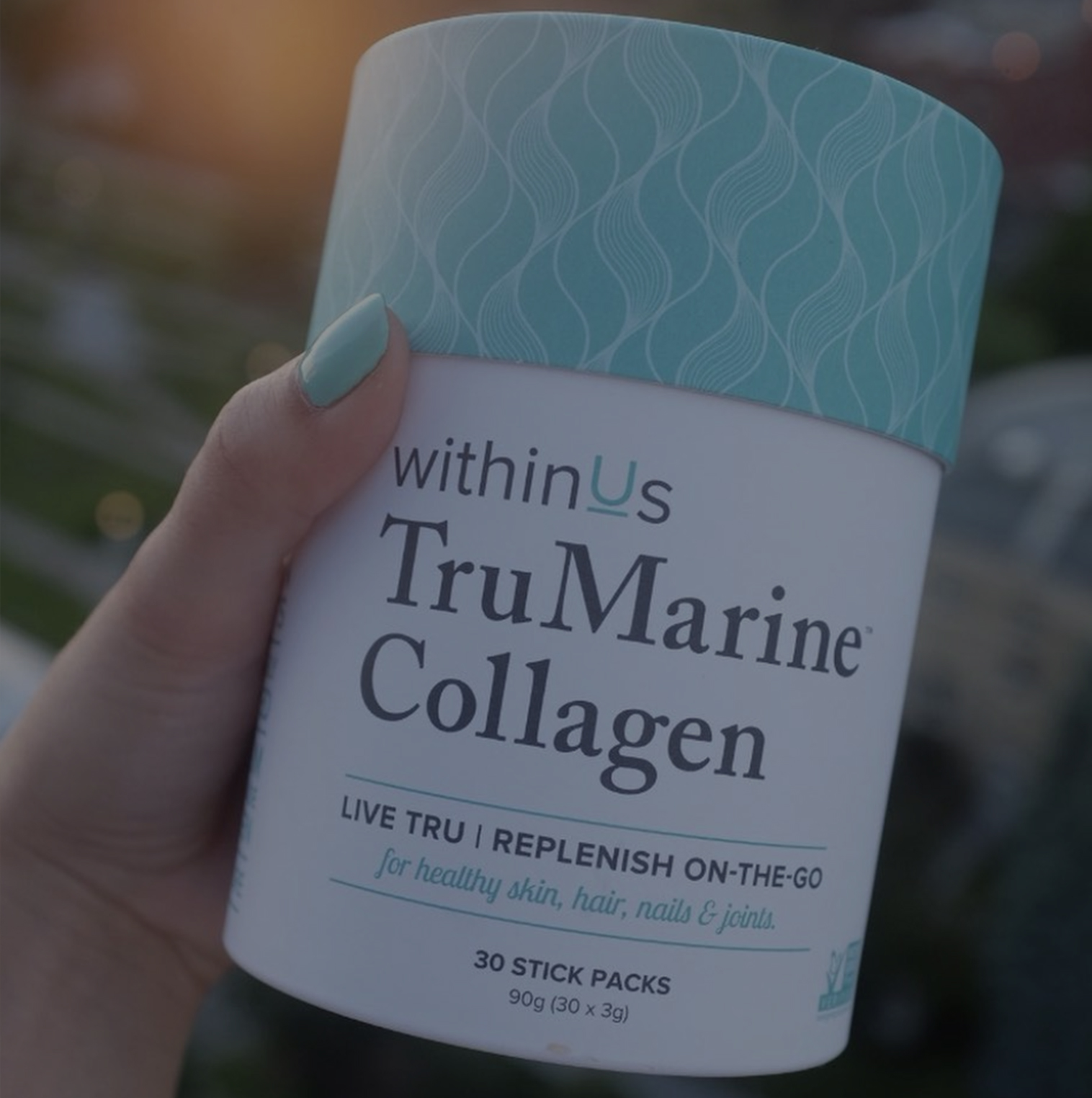 Collagen - Support your skin, hair, and nail health.