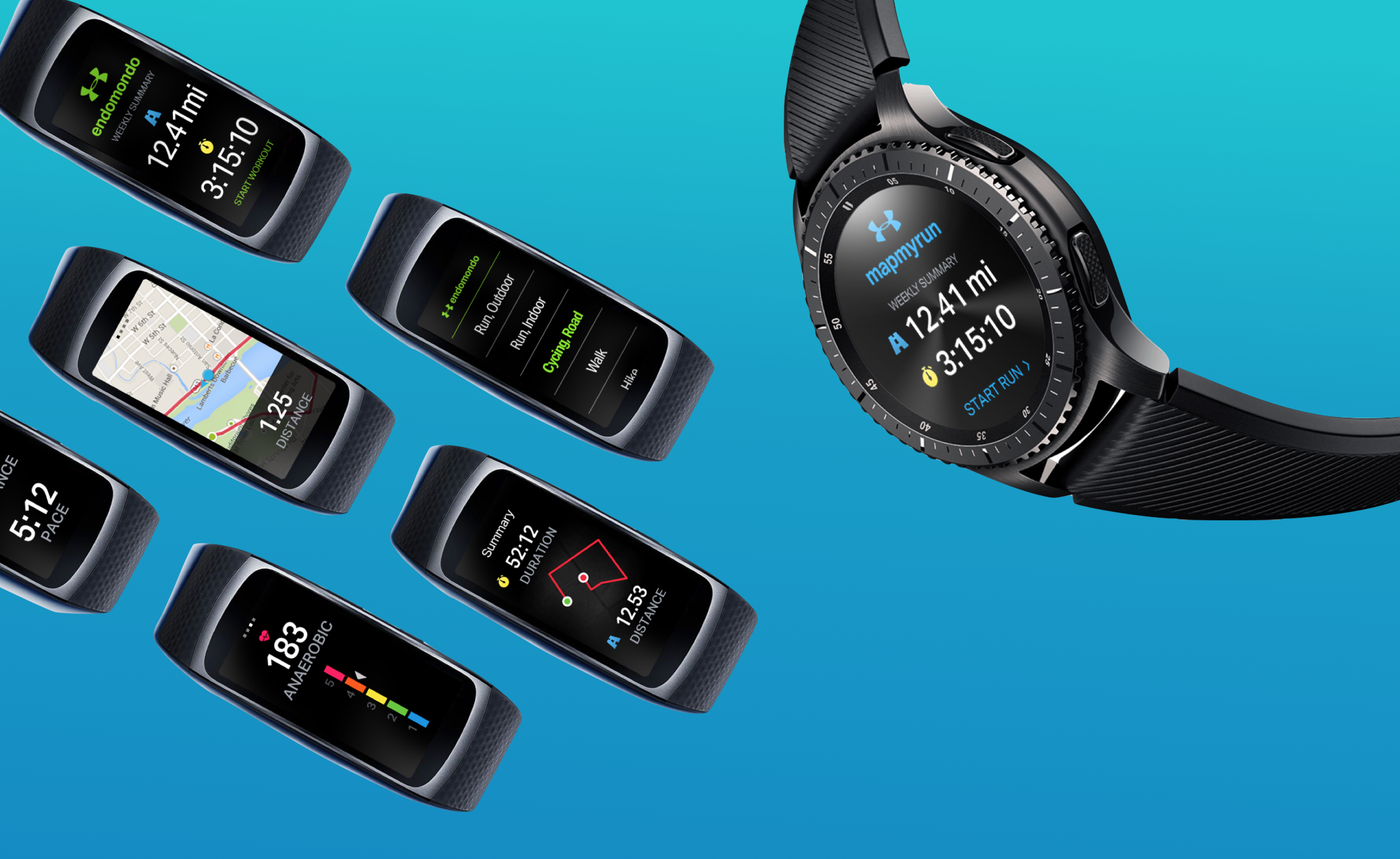 Under Armour + Samsung Gear