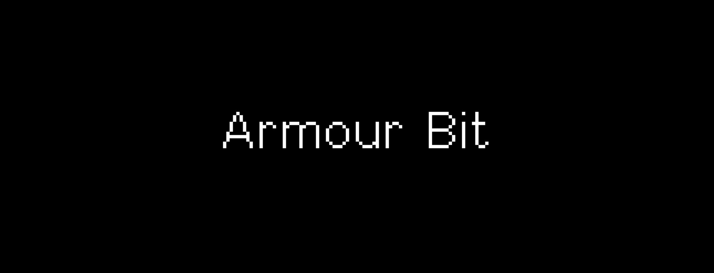 Armour Bit Typeface