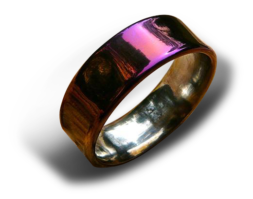Low Profile Ring, Colorized Finish