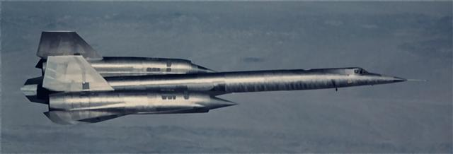 "Photo showing the ""Father"" of the SR-71, top secret Code Name, the A-12 (Archangel-12), the 12th and final design concept that was approved for the CIA contract of a high speed, high altitude reconnaissonnce aircraft. Seen here, unpainted bare Titanium, a miracle of aviation.  She was later Christened by her crews with the name ""CYGNUS""."