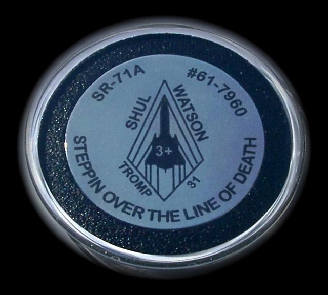 Commemorative SR-71 Challenge Coin