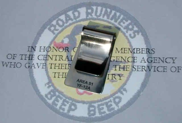 Hello again, I want to find out about getting a money clip from you, and whether or not it can be engraved for me. My dad was a liaison engineer with the Skunk Works and worked at Area 51 on the development of the YF-12A, and I would like a money clip to carry to remember him by. I don't know how big the clip is or how much engraving can be done on one. If you can engrave the clip, I was hoping for something along the lines of; In memory of Joe Sutherland Liaison Engineer Lockheed Skunk Works Project Oxcart 1956-1968 Please let me know about the possibility, as I want to order one of those as well as one of the $39 key chains from you. Thanks in advance for your help. Scott Sutherland