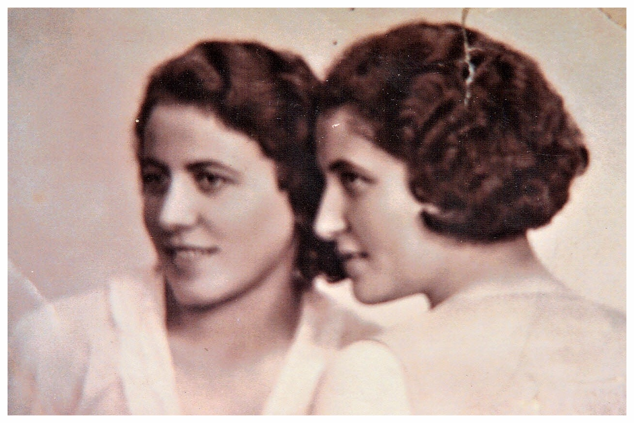 Kovary Sisters c. 1930: Otilia and Blanca
