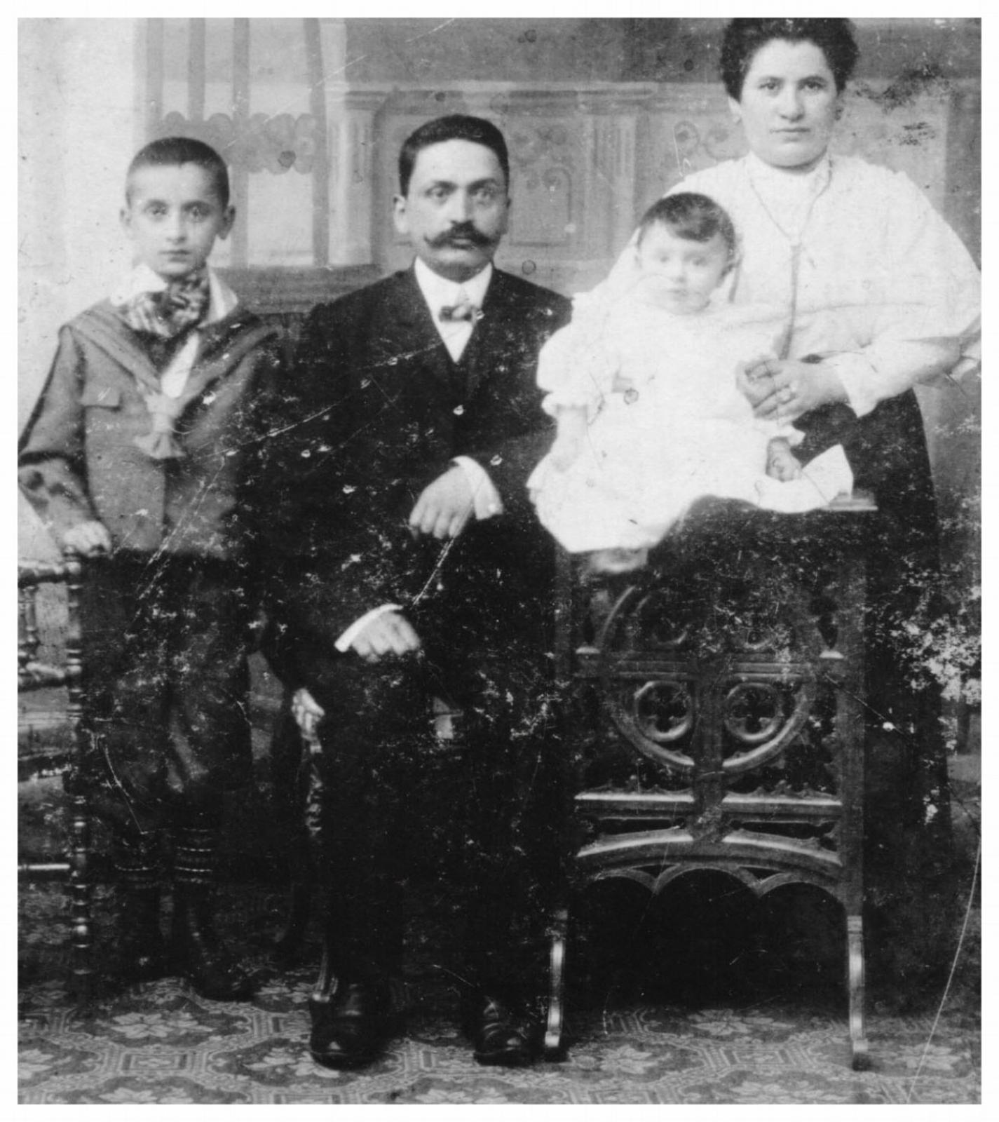 Frieda & Motko Silberstein, Wolf & Eva Silberstein - Berlin 1907