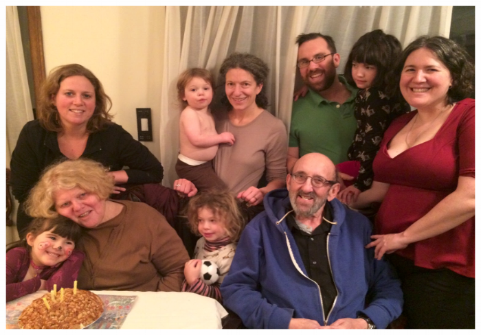 Rabbi David and his family