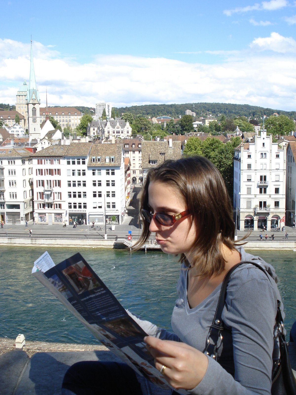 How do we get to that place we want go again? [Me, figuring out my way (literally) around when visiting Zurich back in 2009.]