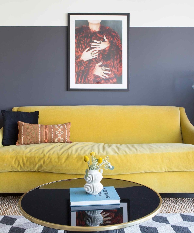 Femme Modern Art // Jordan Interiors //  Modern Eclectic Interiors