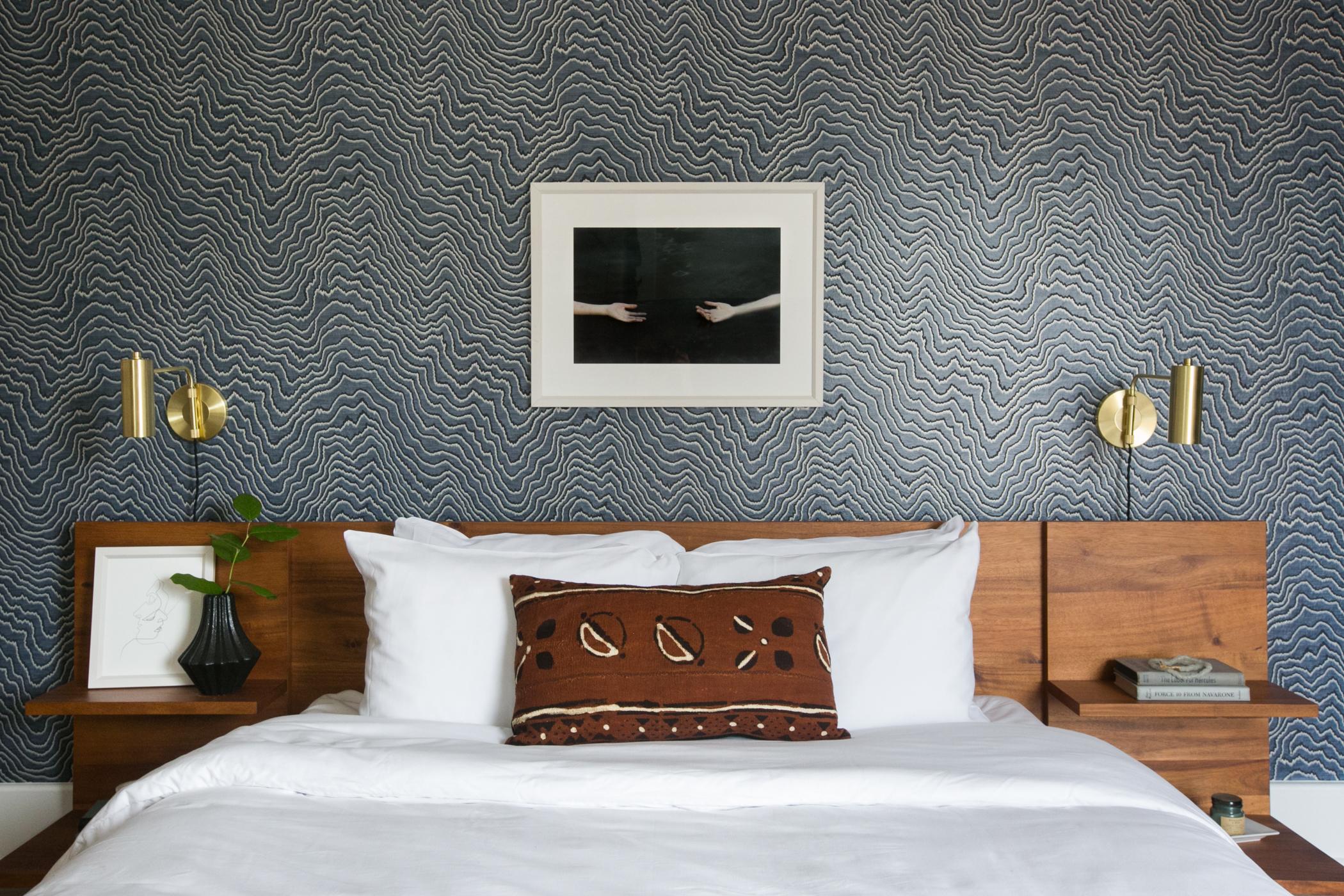 Jordan Interiors // Modern Bedroom Design
