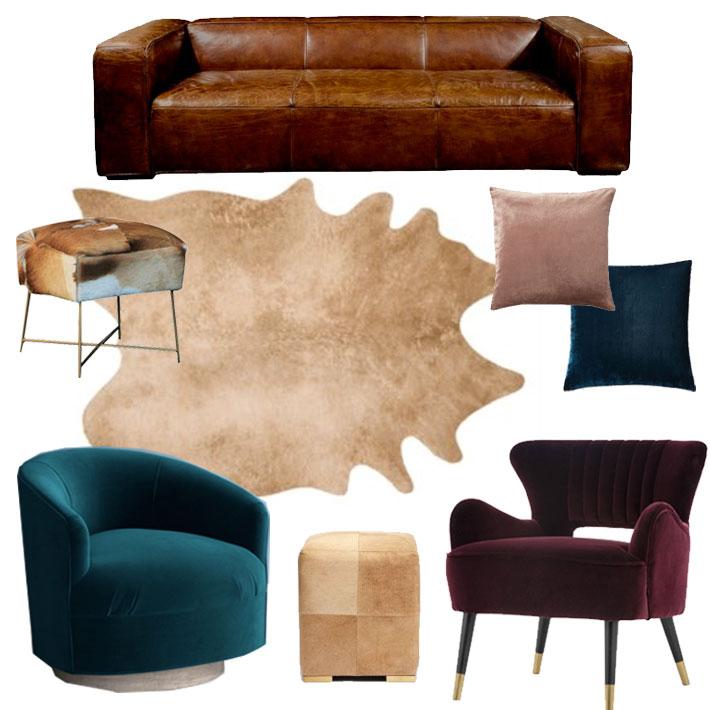 Fall Decor Trend Forecast // Jordan Interiors // Modern Eclectic Home Decor