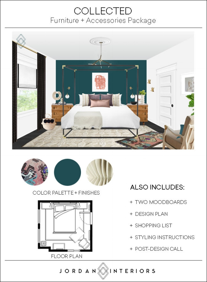 What is E-Design and is it right for me? Your questions about virtual interior design answered! Includes a free online shopping resource list for go-to home decor sites! // Jordan Interiors #interiordesignideas  #interiorstyling #glamdecor