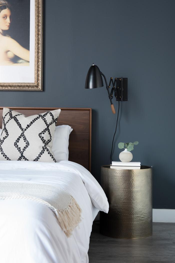 Plug-in Sconces // Jordan Interiors //  Modern Eclectic Interior Design