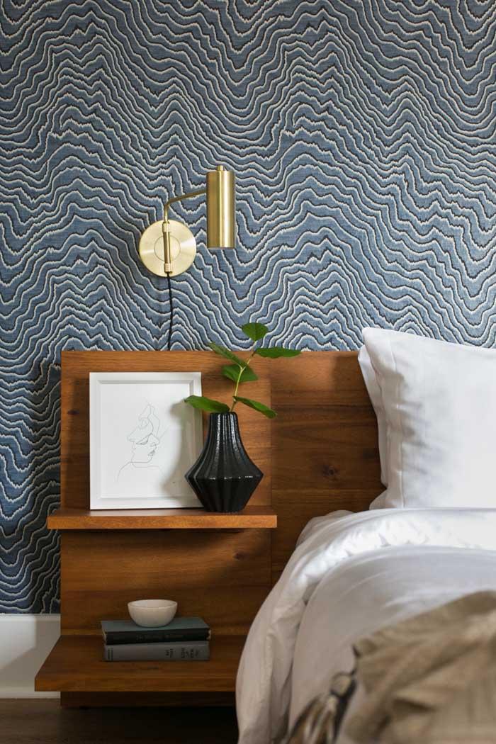 Midcentury Modern San Diego Bedroom // Jordan Interiors // Modern Eclectic Design