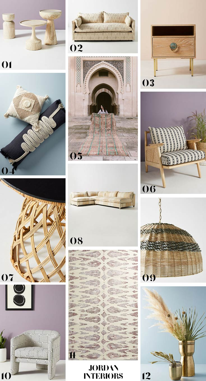 Anthropologie Home Fall Collection Roundup // Jordan Interiors  // Modern Eclectic Design