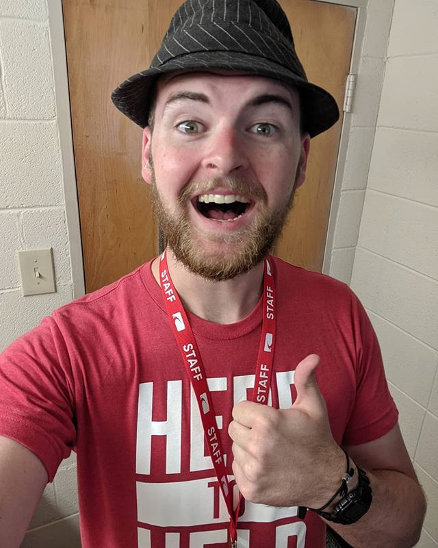 Oh, hey FUGE. I missed you ❤️ my week 1, day 1 starts here! 😁 Please pray that I will be completely exhausted and completely leaning on Him this week. Campers come today!! #rccfuge19 #fugecamps #fugeishuge