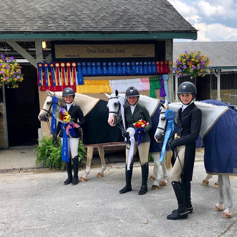 OTHF starred in the USHJA Pony Hunter Derby