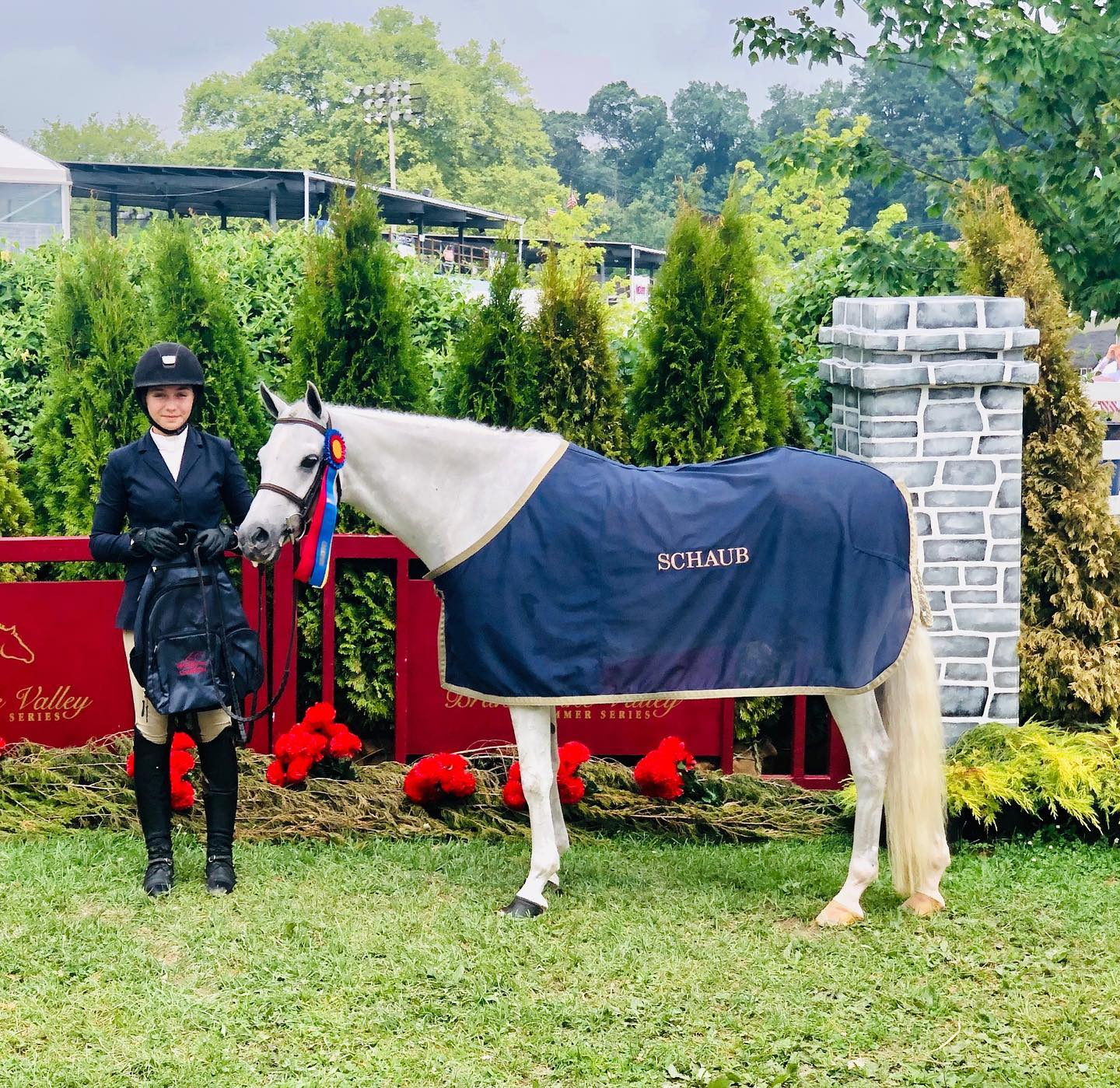 Shenandoah Coral Reef - Champion Medium Green Pony. Thank you Kierstin Antoniadis for the great rides on this young pony at Brandywine.
