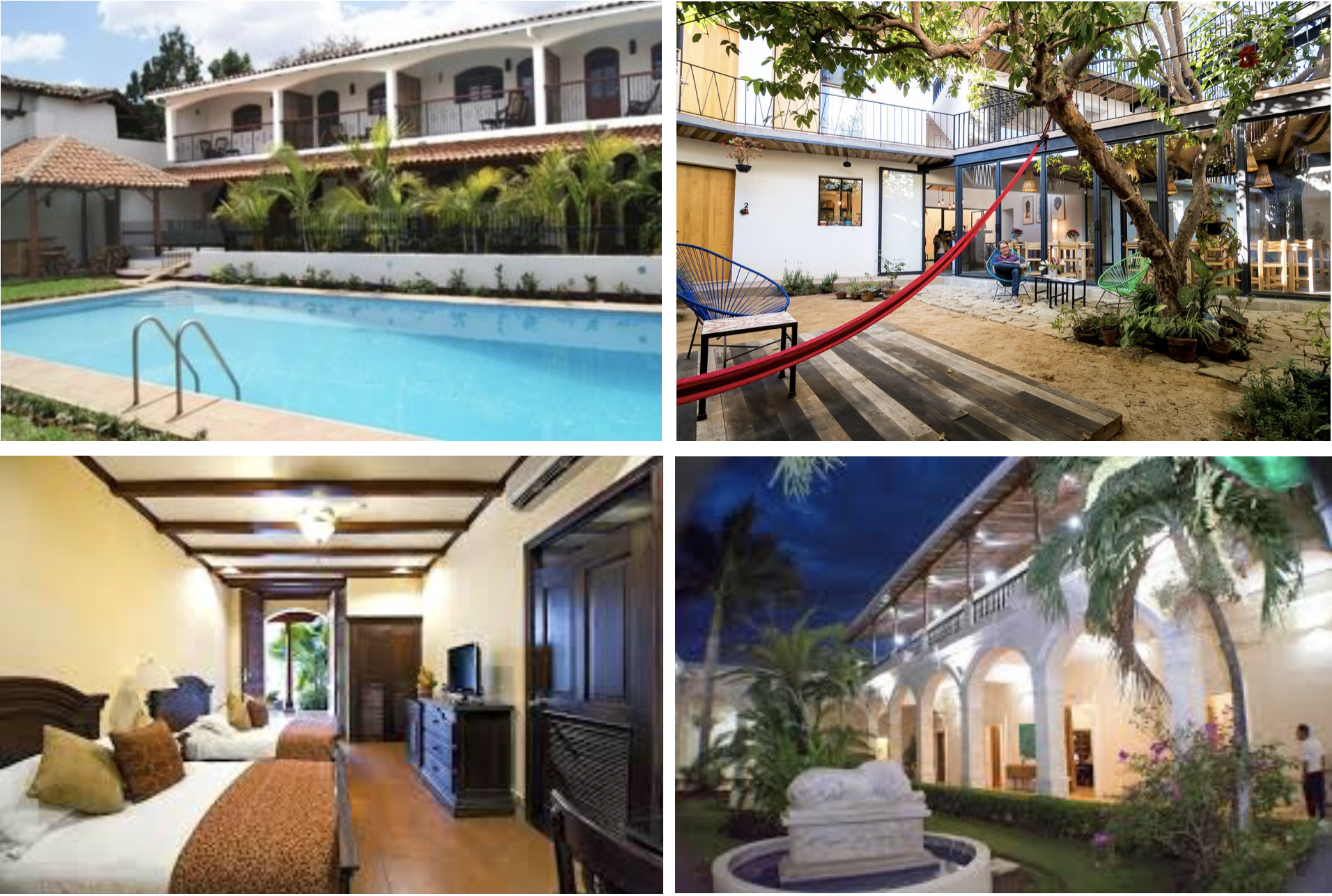 Accommodations - Enjoy your stay in a boutique Nicaraguan hotel that balances local flavor with comfortable amenities.