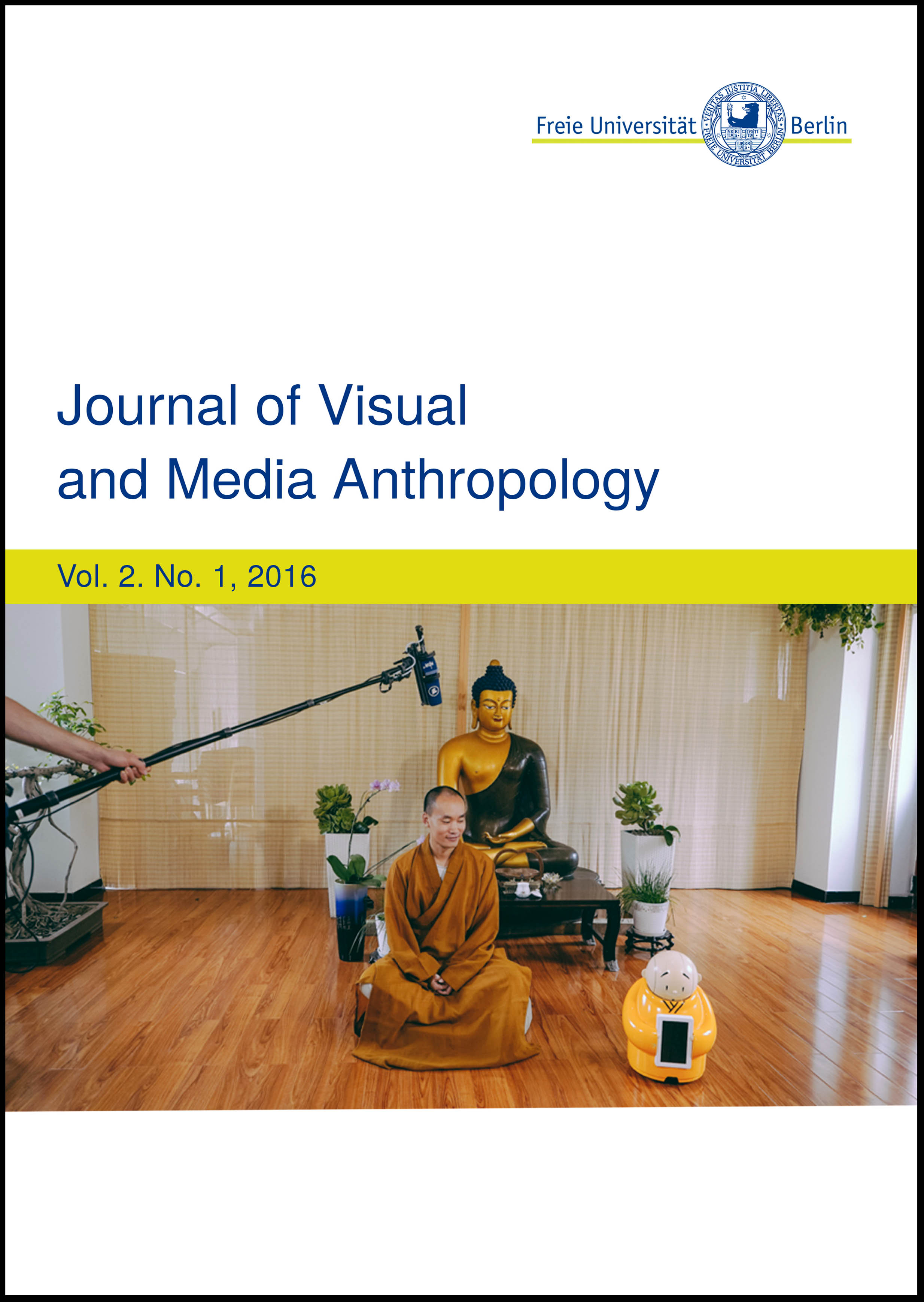 JOURNAL OF VISUAL AND MEDIA ANTHROPOLOGY - The sophomore issue of the Journal of Visual and Media Anthropology consists of four articles and six short ethnographic films. Reflecting the expanding diversity and variety of research fields in Digital Anthropology, these works present new research topics beyond what has previously been thought of as digitalization processes. Specifically, this journal contains the topics of religion, games and play, urban mobility, community development, online dating and big data.EDITORS: PROF. DR. URTE UNDINE FRÖMMING, STEFFEN, KÖHN, MIKE TERRY.HERE