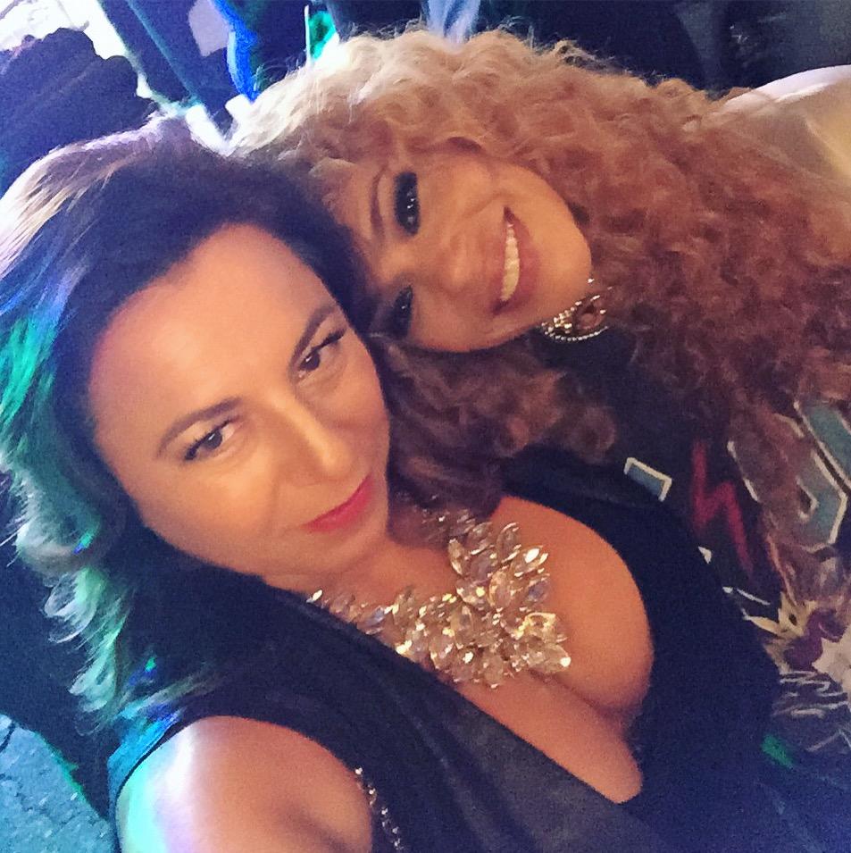 Selma Fonseca and Faith Evans