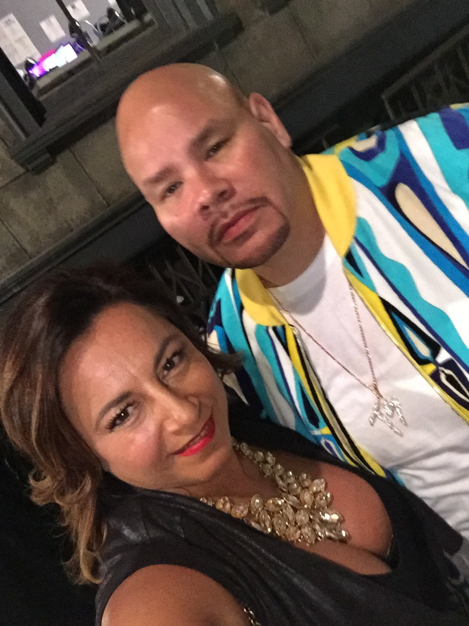 Selma Fonseca and Fat Joe