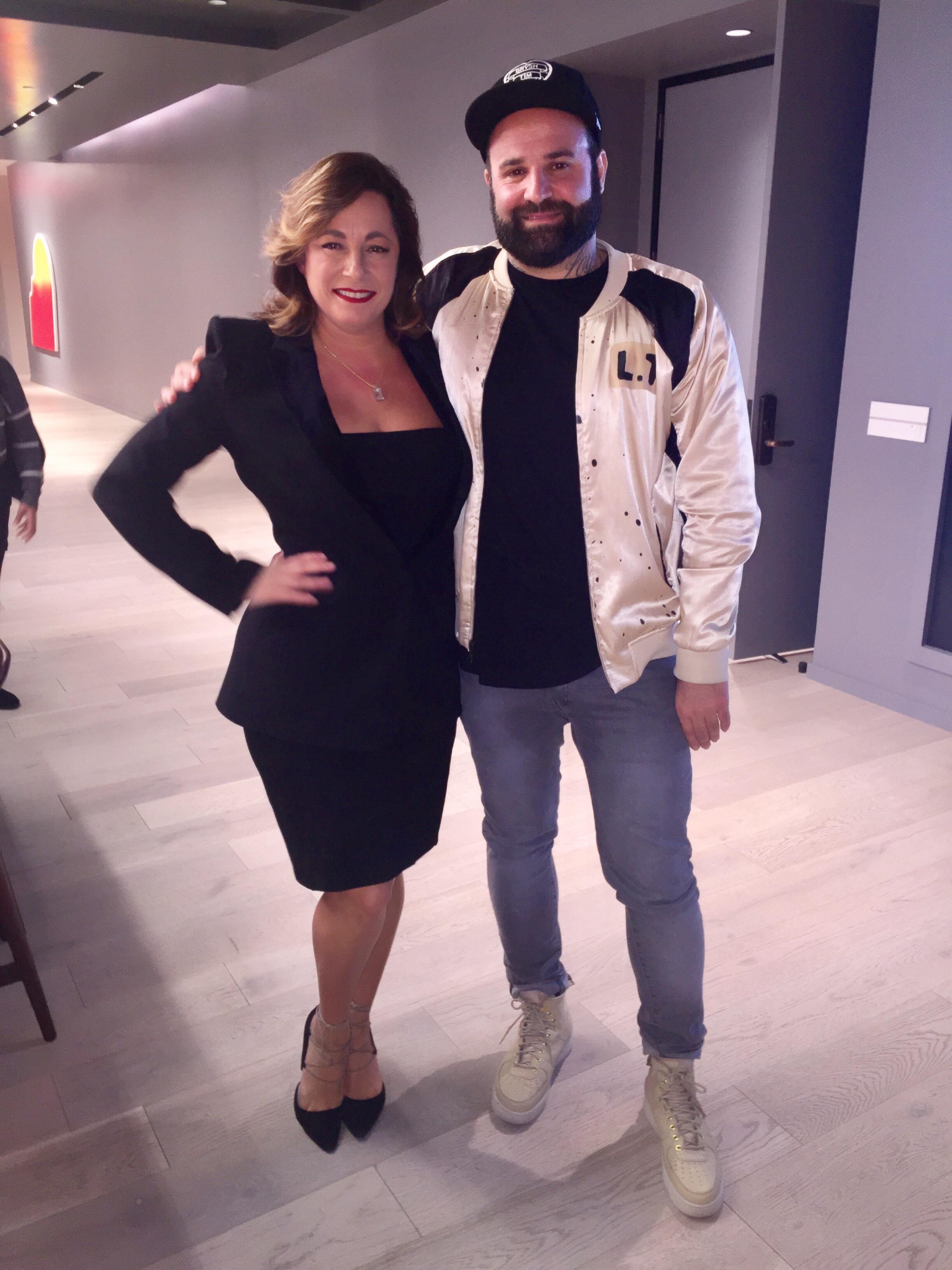 Selma Fonseca and Levan Tsikurishvili