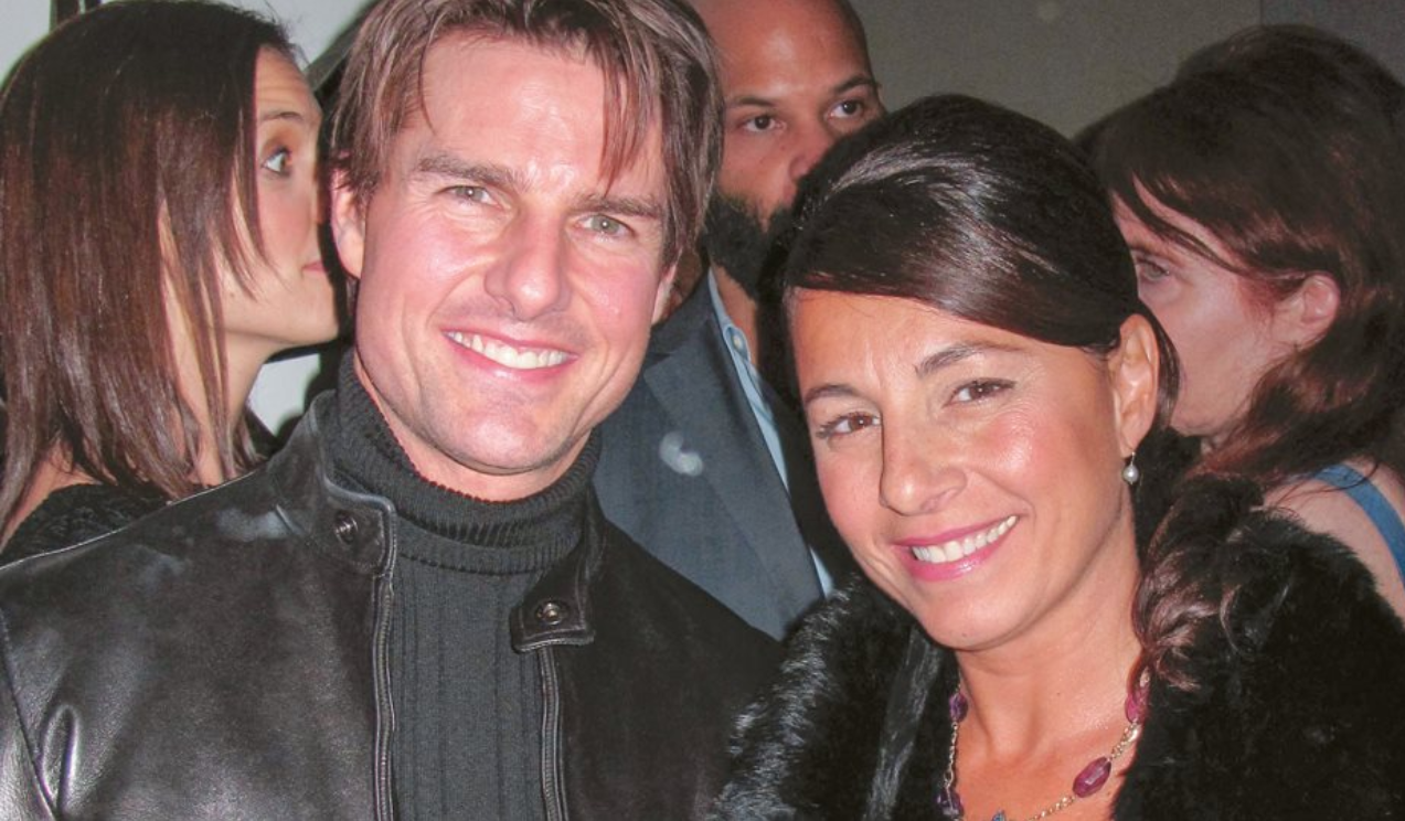 Tom Cruise and Selma Fonseca