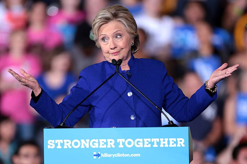 By Gage Skidmore from Peoria, AZ, United States of America (Hillary Clinton) [ CC BY-SA 2.0 ], via Wikimedia Commons