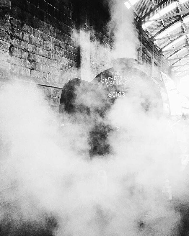 Steam 🚂 #flyingscotsman #penzance #railway #steamlocomotive #locomotive #train #trainspotting #railwaystation #cornwall