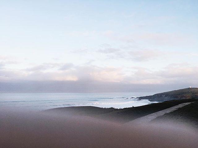 Morning waves #sea #ocean #waves #beach #coast #fistralbeach #newquay #cornwall