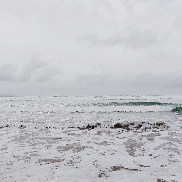 White out #beach #ocean #waves #surf #coast #horizon #godrevy #cornwall