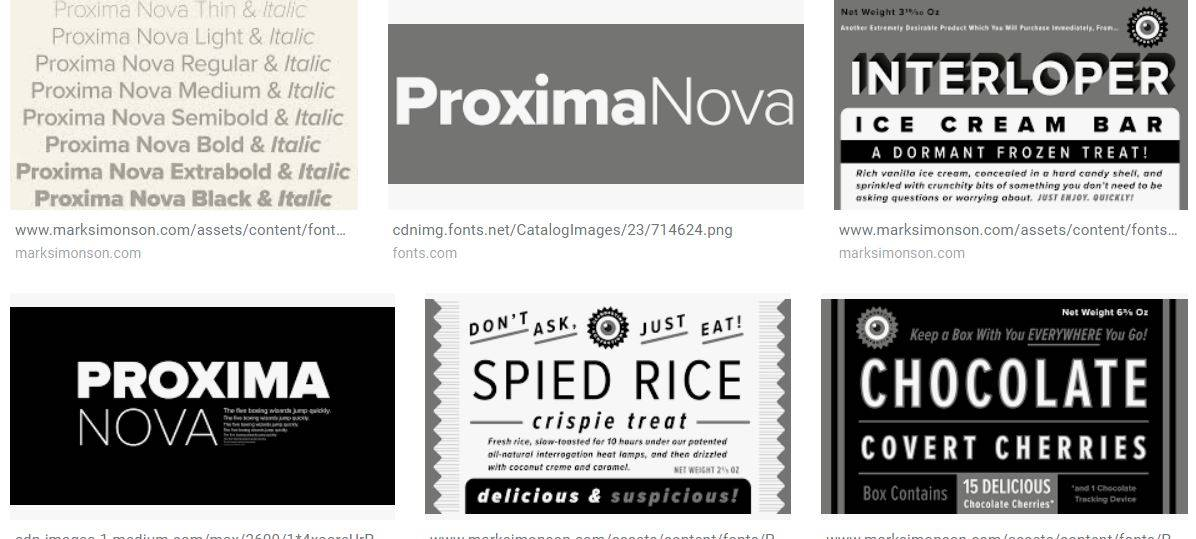 The Proxima Nova font looks professional, modern and has personality. Image courtesy of    Google   . No copyright infringement is intended.