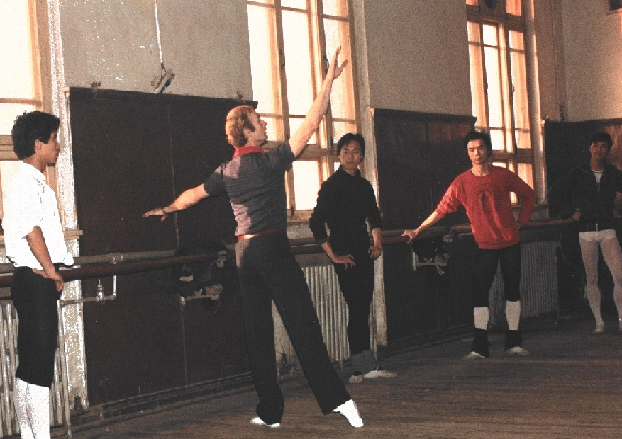 Alberta Ballet School teacher Murray Kilgour taught students on an exchange trip to China when he was with the Royal Ballet School in London in the mid-80s. The real Billy Elliot accompanied him on that trip and performed a tap dance routine at the wrap-up celebrations. It was the first time several of the Chinese students had ever seen a tap dance routine, Murray recalled.