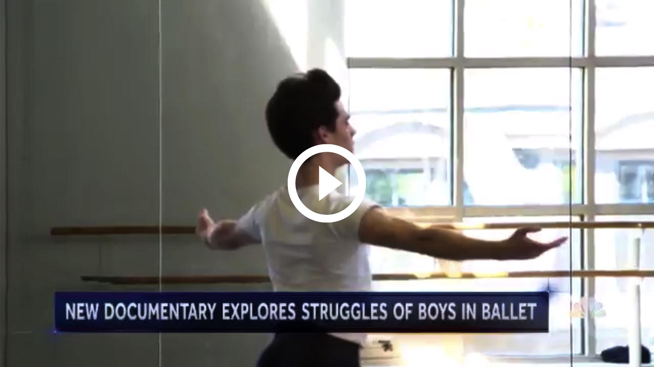 New documentary explores struggles of boys in ballet