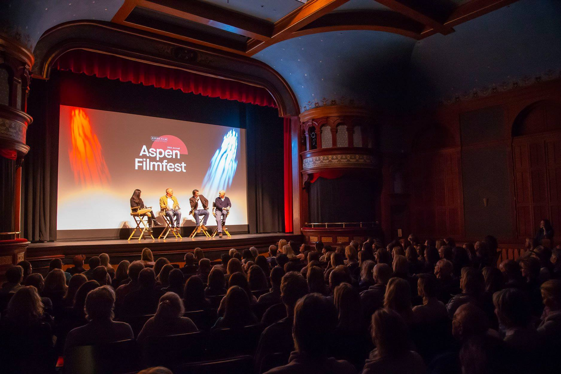 Q&A at Wheeler Opera House