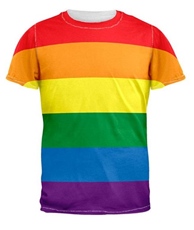 Rainbow T-shirt. $9.99