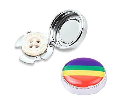 Pair of Rainbow Button Covers. $16.99