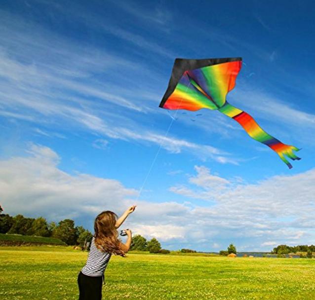 Huge Rainbow Kite. $18.99