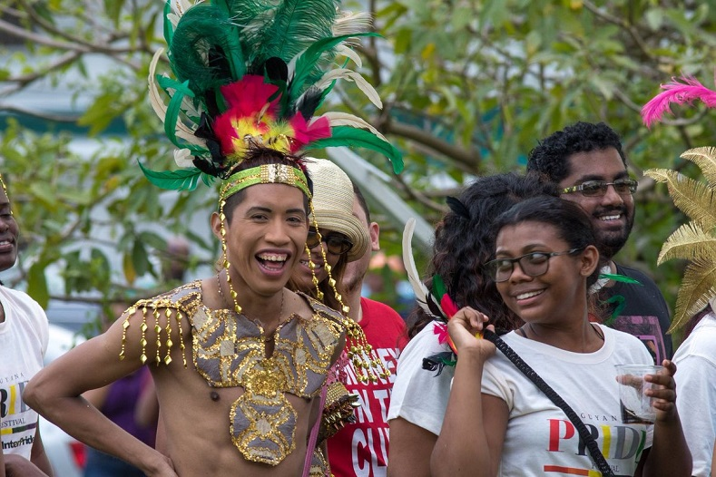Photo:Twitter: Guayana Trans United. A History of Pride Celebrations from Around the World telesurtv.net