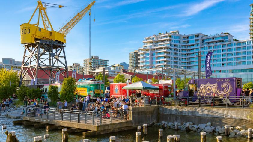 North Vancouver Shipyards Night Market