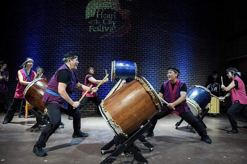 Sawagi Taiko Women Drummers will be at BOLDFest this year