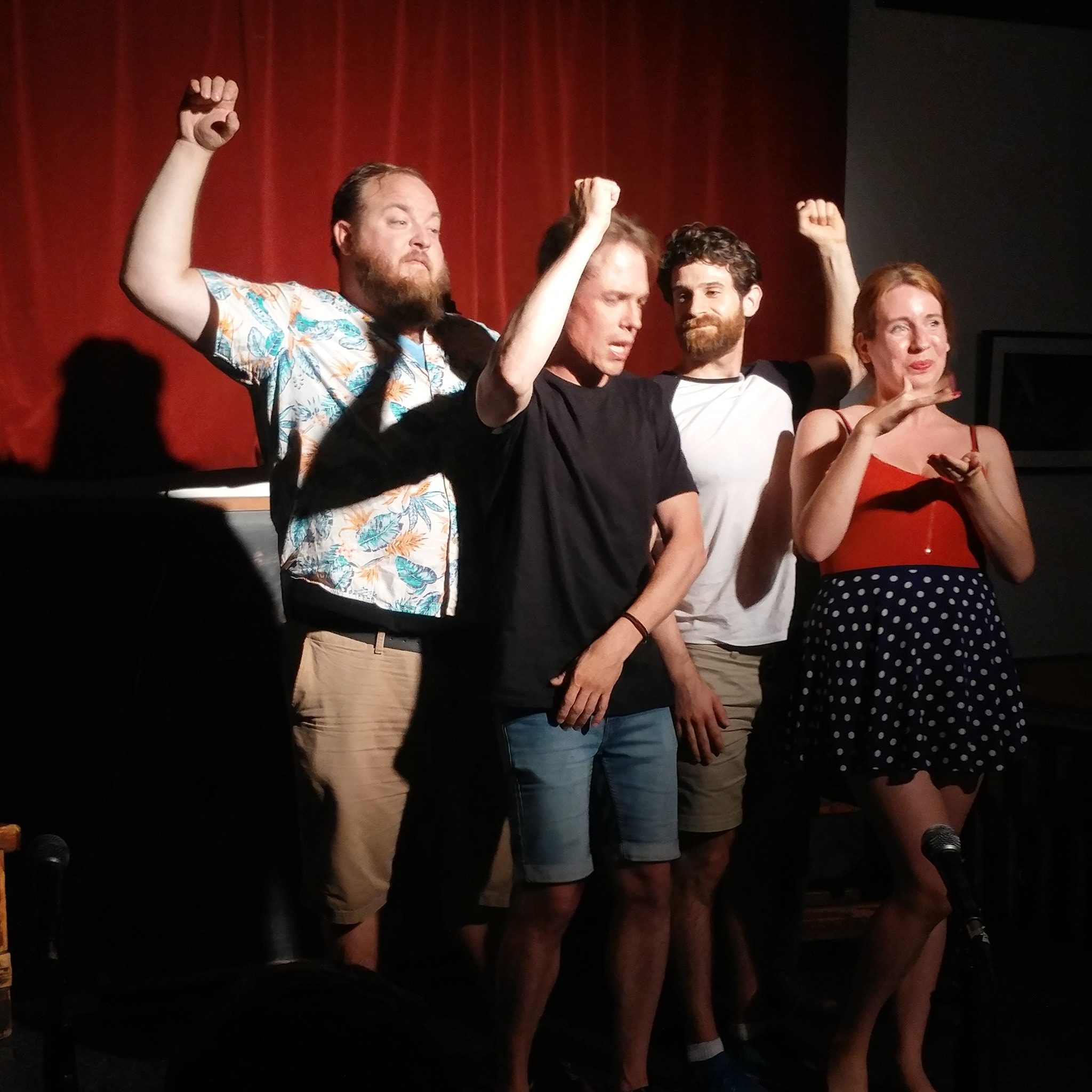 Hot Improv with The Fictionals Tuesday nights on Commercial Drive